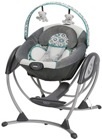 best baby swing graco glider lx