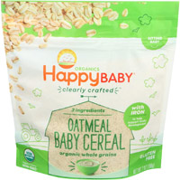 best organic baby food happy baby cereal