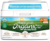best infant formula happy baby organic