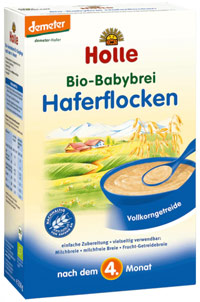 best organic baby food holle oatmeal cereal