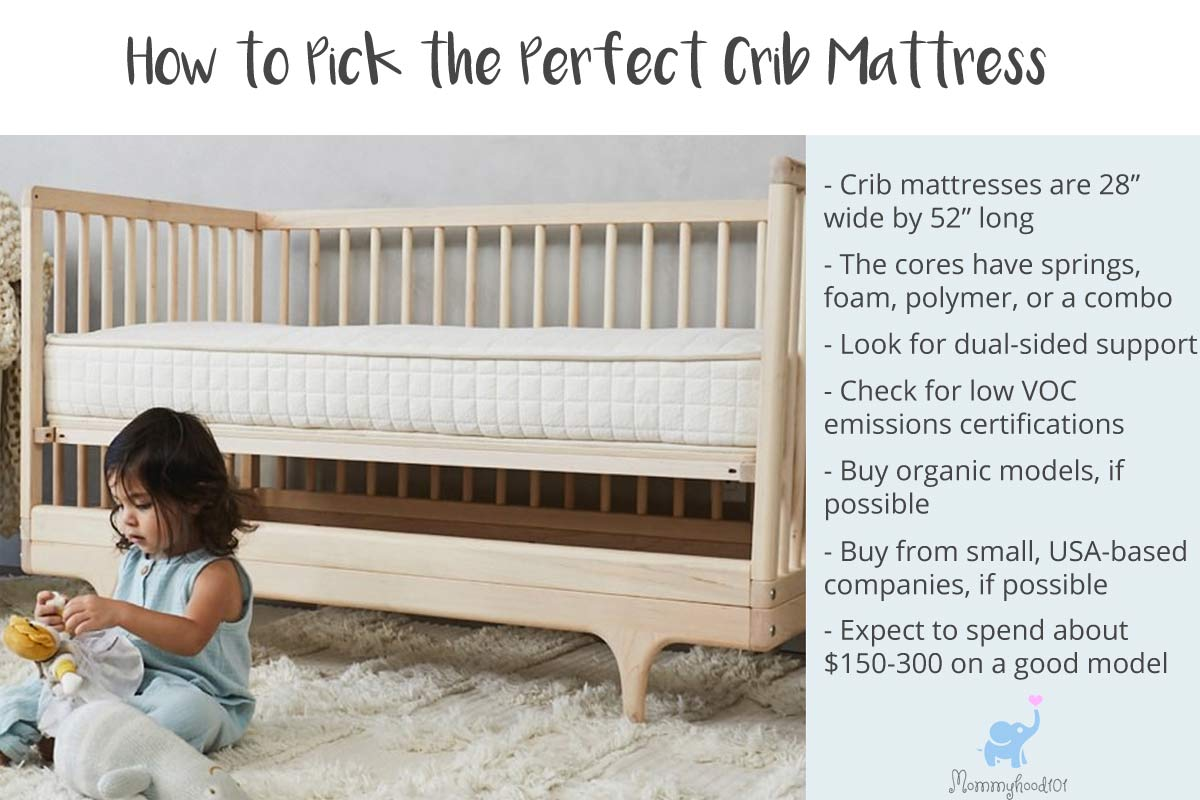 crib mattress buying guide how to pick the perfect baby mattress