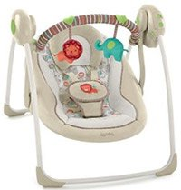 best baby swing ingenuity cozy kingdom portable