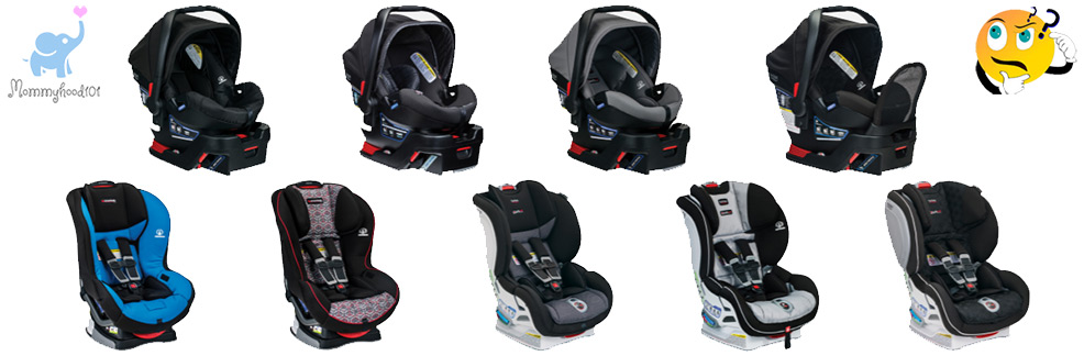 britax car seat comparison infant convertible
