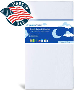 organic dream crib mattress made in usa