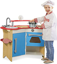 best play kitchen melissa and doug cooks corner
