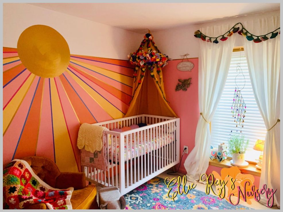 retro nursery theme