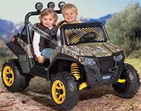 best ride-on toys peg perego polaris