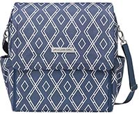 petunia pickle bottom boxy indigo diaper bag