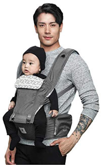 71c7fcf4b80 Pognae No 5 Organic Baby Hipseat Carrier. best baby carrier pognae
