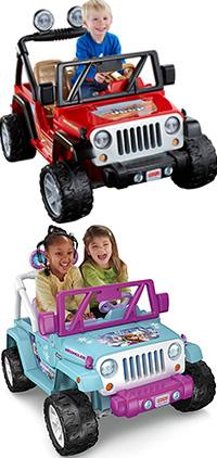 best ride-on toys power wheels jeep