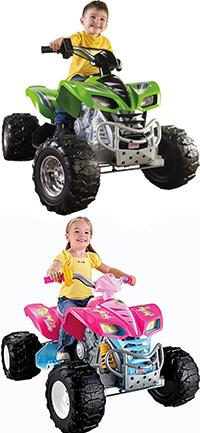 best ride-on toys power wheels kawasaki kfx