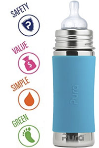 best stainless steel baby bottles pura kiki