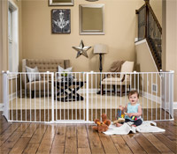 best baby gate regalo 192 inch super wide baby gate