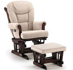 Attractive Shermag Nursery Glider And Ottoman Combo. ...