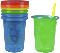 best sippy cup first years take toss spill-proof straw cups