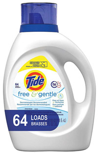 best baby laundry detergent tide free and gentle