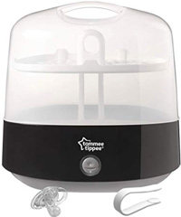 best baby bottle sterilizer tommee tippee electric