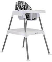 zoe high chair convertible